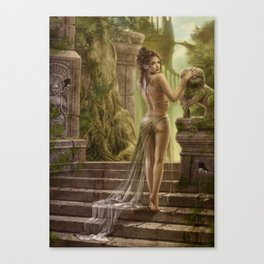 The way of the last empire Canvas Print