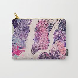 New York Mosaic Map #1 Carry-All Pouch