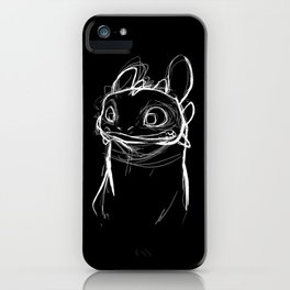 Toothlessketch iPhone Case