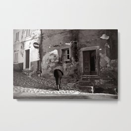 "HEADLESS Phantom of Sardinia ""VACANCY"" zine Metal Print"