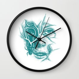 Courage and Insecurity Wall Clock