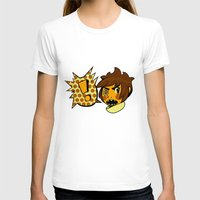 sticker T-shirts featuring Chip sticker by marvelousghost