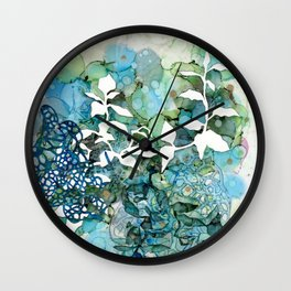 Beauty Of Chaos 1 Wall Clock