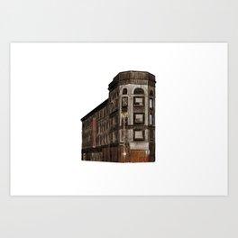 RODIER BUILDING Art Print
