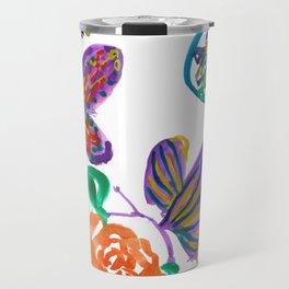 Floral medley Travel Mug