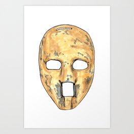 Plante - Mask Art Print