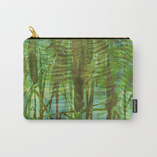 Blue Reed Carry-All Pouch