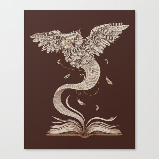 Flow of Wisdom Canvas Print