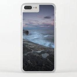 Set Adrift on Memory Bliss Clear iPhone Case