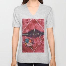 Cardiac Arrangement Unisex V-Neck