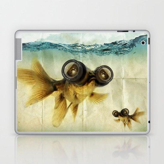 Fish eye lens 02 Laptop & iPad Skin