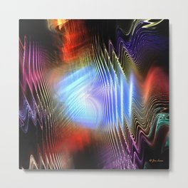 Visual Sound Metal Print
