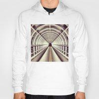 bridge Hoodies featuring Bridge by BarWy