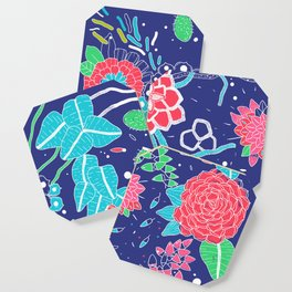 Flowers and Cactus Coaster
