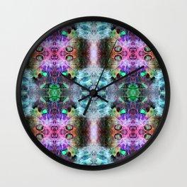 Neurotransmitted Daydreams (Pattern 2) Wall Clock