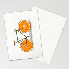 Zest (Orange Wheels) Stationery Cards