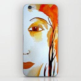 The Goddess of Autumn  iPhone Skin