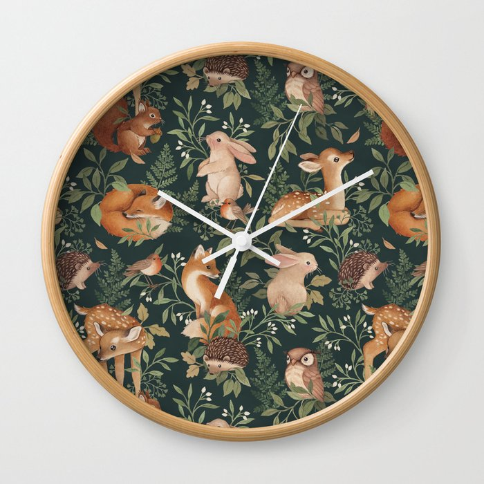 Nightfall Wonders Wall Clock