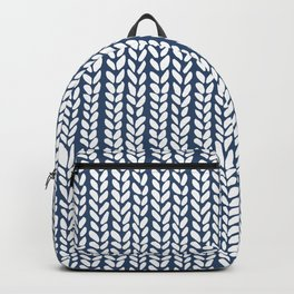 Cable Row Navy 1 Backpack