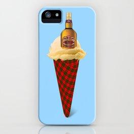 Whiskey. Ice cream iPhone Case
