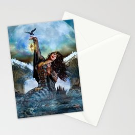 Magical Sea Witch Stationery Cards