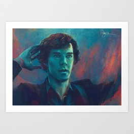 I don't know the code Art Print