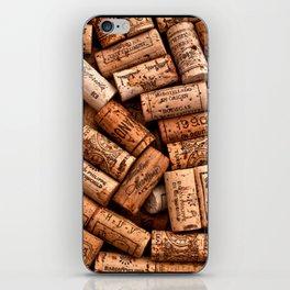 Corks,wine corks iPhone Skin