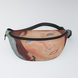 """Amedeo Modigliani """"Young Woman in a Shirt (The Little Milkmaid)"""" Fanny Pack"""