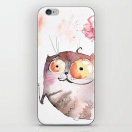 Saturday caturday iPhone Skin