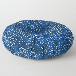 Whale Shark Skin (Blue and White Color) Floor Pillow