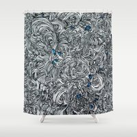 tangled Shower Curtains featuring Tangled  by Natalie Schnitter