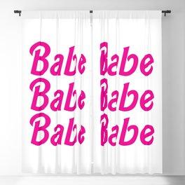 Babe Blackout Curtain