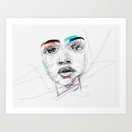 Lost in Your Mind Art Print