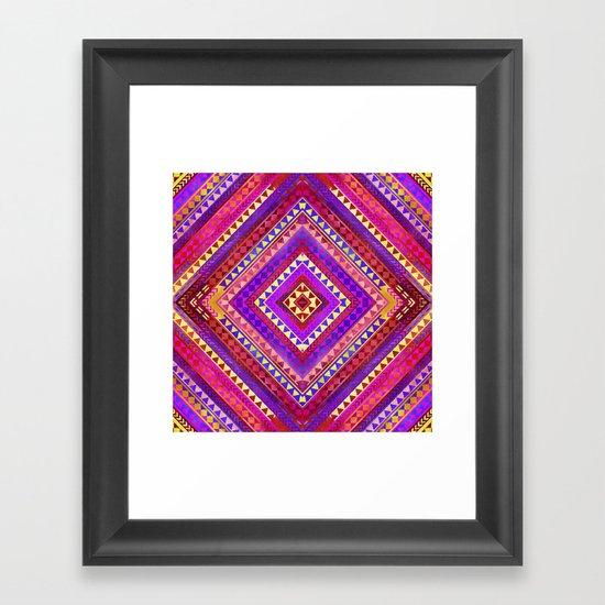 Rhythm III Framed Art Print