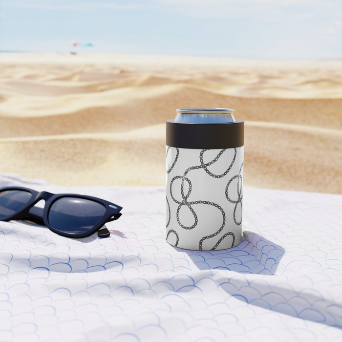bicycle chain repeat pattern Can Cooler