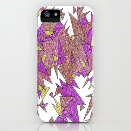 Abstract Edges #3 iPhone Case