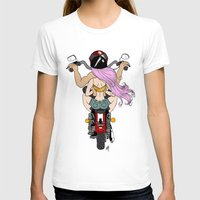 harley T-shirts featuring Harley by Natalie Easton