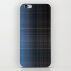 Blue Checked iPhone & iPod Skin