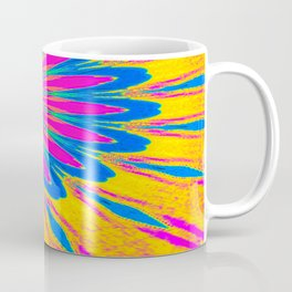 The Modern Flower Rainbow Coffee Mug