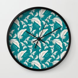 Seaside Flight Wall Clock