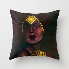 Madame de Fer Throw Pillow