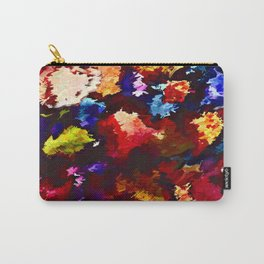 Flower Market Abstract Carry-All Pouch