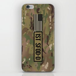 1st SFOD-D (Camo) iPhone Skin