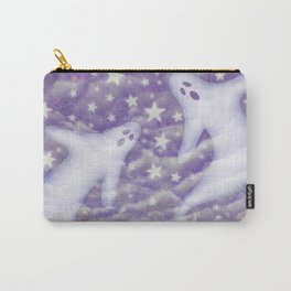 2 ghosts & violet sky Carry-All Pouch