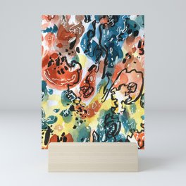 Organised Mess Mini Art Print