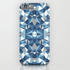 Abstract Collide Blues iPhone 6s Slim Case