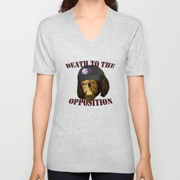Death to the opposition Unisex V-Neck