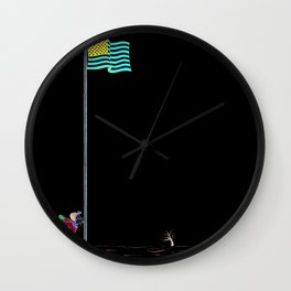Pole Wall Clock