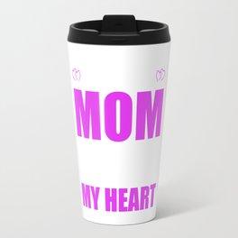 Team Moms Full Heart Mothers Day T-Shirt Travel Mug