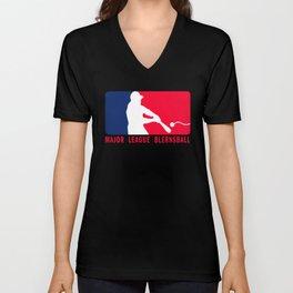 Major League Blernsball Unisex V-Neck